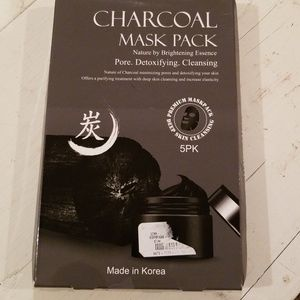 Charcoal Mask 5 Pack